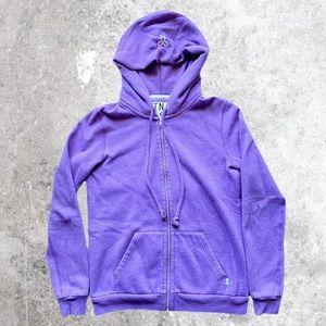 ARITZIA TNA Zip Up Hoodie Purple Small
